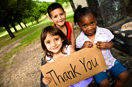 fundraising thankyou
